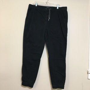 Iron Co black jogger pants